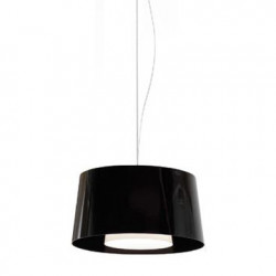 Suspension L001S/BA, Pedrali noir / blanc