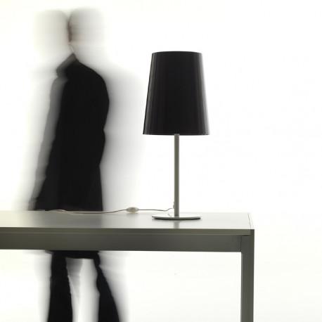 Lampe à poser L001TA, Pedrali noir