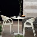 Chaise Gossip 620, Pedrali blanc