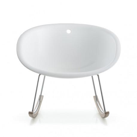 Gliss 350 Swing, rocking chair, Pedrali blanc