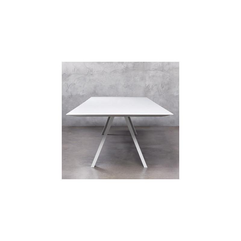 Arki grande table design pedrali blanc 360x120 cm - Grande table design ...