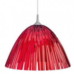 Suspension Reed, Koziol rouge transparent