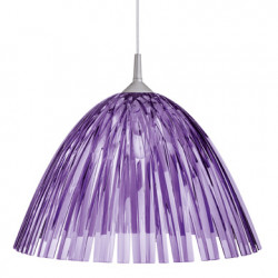 Suspension Reed, Koziol violet transparent