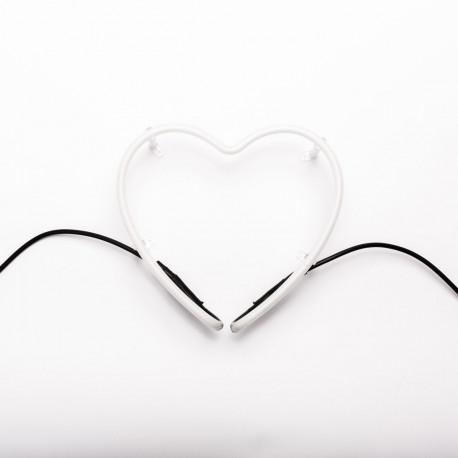 Symbole Coeur lumineux design, Neon Art
