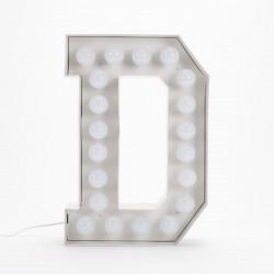 Lettre géante LED Vegaz, Seletti d