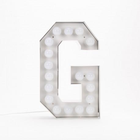Lettre géante LED Vegaz, Seletti g