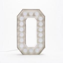 Lettre géante LED Vegaz, Seletti o