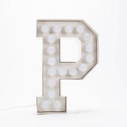 Lettre géante LED Vegaz, Seletti p