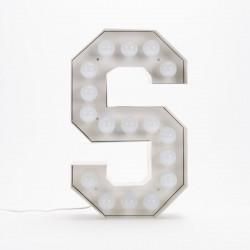Lettre géante LED Vegaz, Seletti s