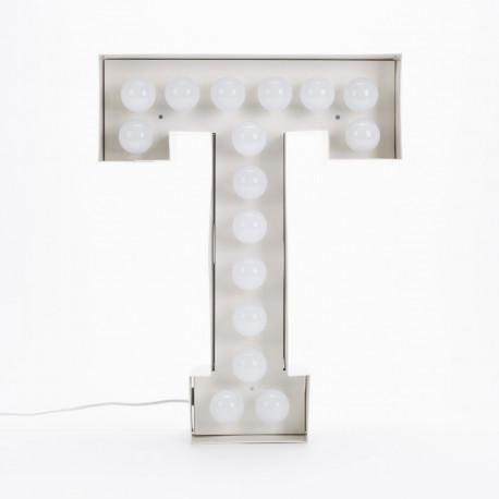 Lettre géante LED Vegaz, Seletti t