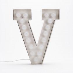 Lettre géante LED Vegaz, Seletti v