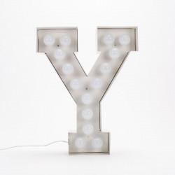 Lettre géante LED Vegaz, Seletti y