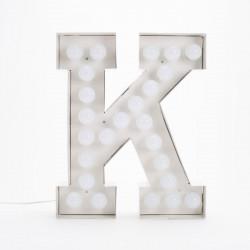 Lettre géante LED Vegaz, Seletti k