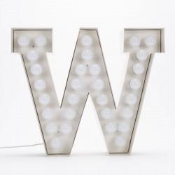 Lettre géante LED Vegaz, Seletti w