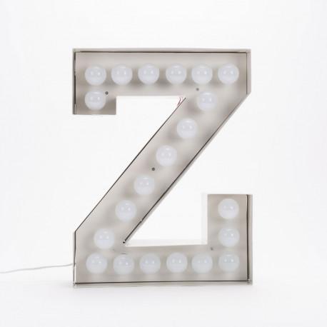 Lettre géante LED Vegaz, Seletti z
