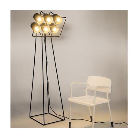Lampadaire Multilamp, Seletti noir