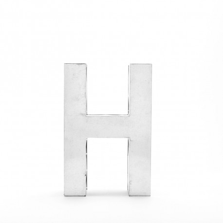 Lettres Metalvetica 100, Seletti h