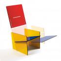 Bauchair, fauteuil design, Seletti multicolore