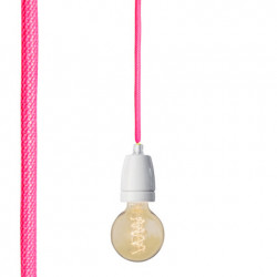 Suspension fluo, Nud Collection rose fluo