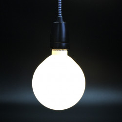 Ampoule basse consommation White, Nud Collection blanc Diamètre 125 mm