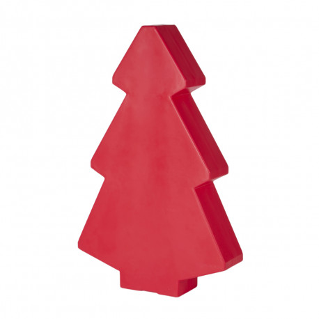 Sapin lumineux Lightree Outdoor, Slide Design rouge Hauteur 100 cm