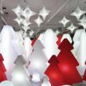 Sapin lumineux Lightree Outdoor, Slide Design rouge Hauteur 150 cm