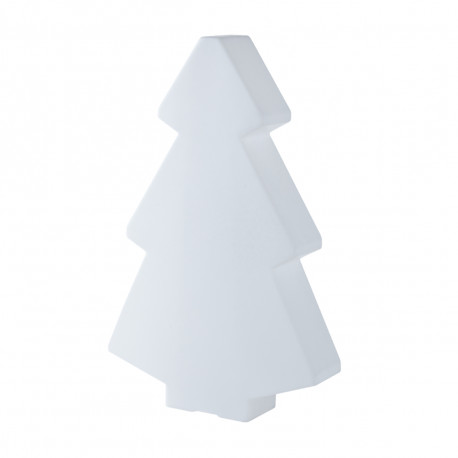 Sapin lumineux Lightree Outdoor, Slide Design blanc Hauteur 150 cm