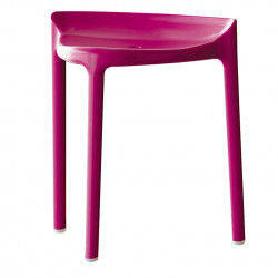 Tabouret Happy 491, Pedrali rose mauve