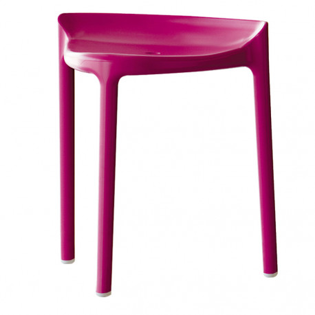 Happy 491 tabouret, Pedrali rose mauve