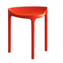 Tabouret Happy 491, Pedrali rouge