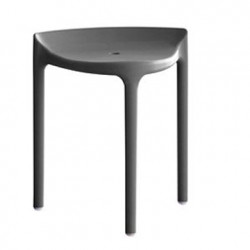 Tabouret Happy 491, Pedrali gris anthracite