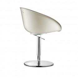 Gliss 950, Fauteuil Pedrali, pivotant, hauteur réglable blanc