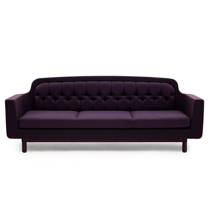 grand canap 3 places onkel normann copenhagen violet. Black Bedroom Furniture Sets. Home Design Ideas