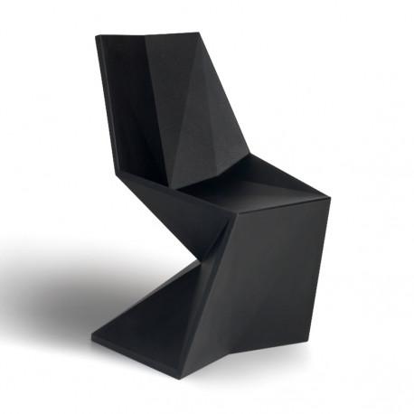 Chaise Vertex Laquée, Vondom noir