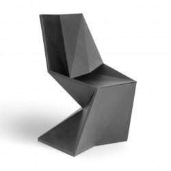 Chaise Vertex Laquée, Vondom gris acier