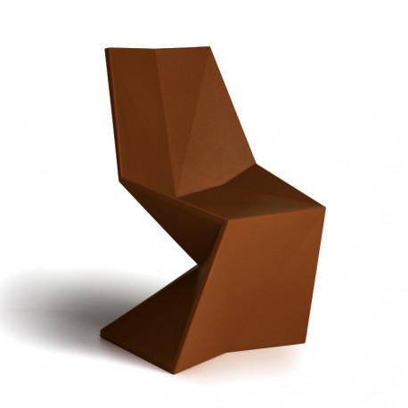 Chaise Vertex Laquée, Vondom bronze