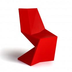 Chaise Vertex Laquée, Vondom rouge