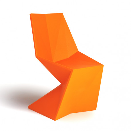 Chaise Vertex Laquée, Vondom orange