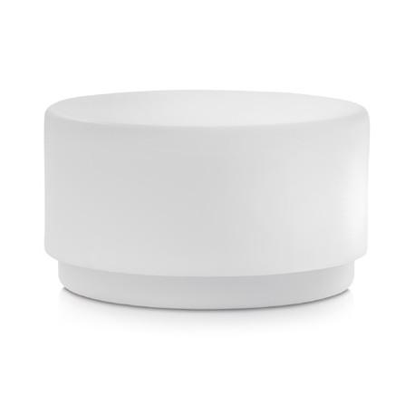 Table basse lumineuse Wow 475, Pedrali blanc
