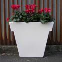 Pot Il Vaso laqué, Slide Design blanc Petit modèle laqué