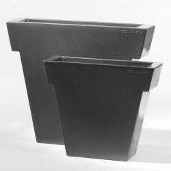 Pot Il Vaso laqué, Slide Design gris Grand modèle laqué