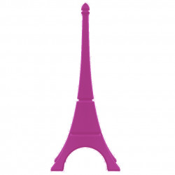 Tour Eiffel déco, Qui est Paul? fuchsia