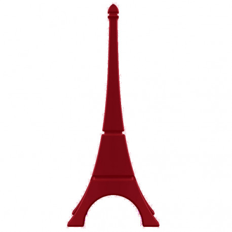 Tour Eiffel déco, Qui est Paul? rouge