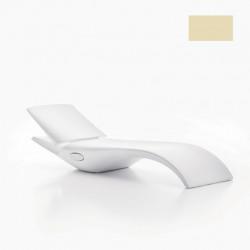 Chaise longue Zoe, MyYour ivoire