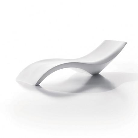 Chaise longue Cleo, MyYour blanc, 220x69xH54 cm