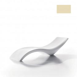 Chaise longue Cloe, MyYour ivoire