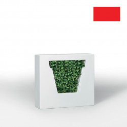 Pot design Nonvaso, MyYour rouge