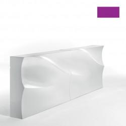 Elément droit Bar Baraonda, MyYour violet