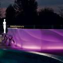 Elément droit Bar Wave lumineux à LED RGBW