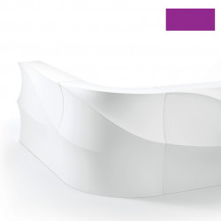 Elément d'angle Bar Baraonda, MyYour violet